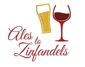 Wine and Beer tasting logo - 13th Annual Mercy Health Ales to Zinfandels Event