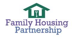 Family housing partnership logo